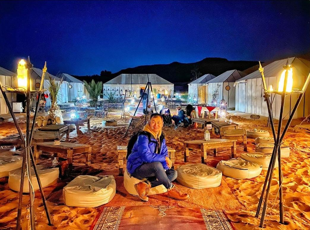 Sahara camp during 4 days from to Marrakech
